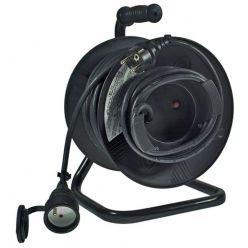 Prodlužovací kabel 50m na bubnu, průřez 1.5mm, gumový