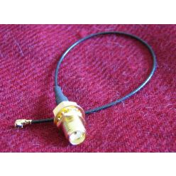Pigtail 15cm IPEX to SMA female pigtail cable
