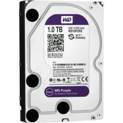 "WD Purple 1TB, 3.5"" HDD, 5400rpm, 64MB, SATA III, Low Noise"
