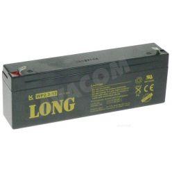 Baterie Long 12V 2,3Ah olověný akumulátor F1