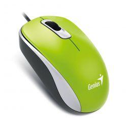 Genius DX-110, optická myš, 1000dpi, USB, zelená