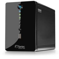 FANTEC CL-35B2, RAID Cloud NAS MultimediaServer, Gbit, USB-Host