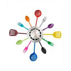 Příborové hodiny - barevné