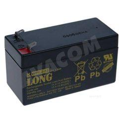 Baterie Long 12V 1,2Ah olověný akumulátor F1