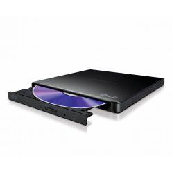 LG GP57EB40, externí slim DVDRW mechanika, 8x, USB 2.0, černá