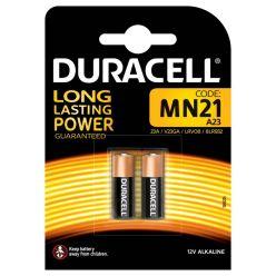 Duracell alkalické baterie A23 pro fotoaparát, 12V, 2ks