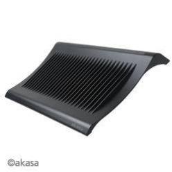 """AKASA AK-NBC-03BK,chladící podložka pro 15"""" notebook,  2xUSB, černý"""