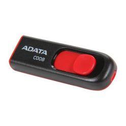 ADATA C008 64GB, flash disk, USB 2.0, černá