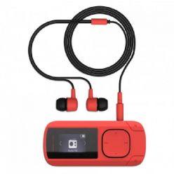 ENERGY MP3 Clip Coral (8GB, MicroSD, FM, sluchátka)