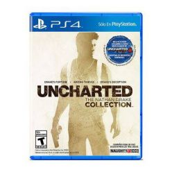 PS4 hra Uncharted Collection
