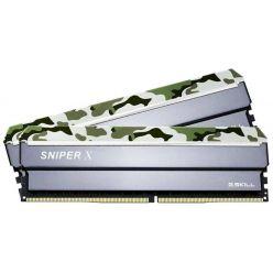 G.Skill Sniper X 2x16GB DDR4 3000MHz CL16, DIMM, XMP 2.0, 1.35V, Classic Camo