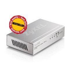 ZyXEL ES-105A, 5-port 10/100Mbps Ethernet switch, 2x QoS, desktop