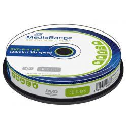 MEDIARANGE DVD-R 4.7GB, 16x, 10ks, spindl