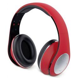 Genius HS-935BT, sluchátka s mikrofonem, Bluetooth 4.1, červená