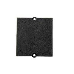Modul 37x40  - záslepka černá