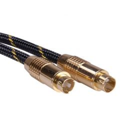 Roline Gold S-video propojovací kabel, 10m