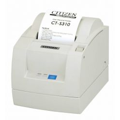 Tiskárna Citizen CT-S310-II USB/Serial, Interní zdroj, bílá