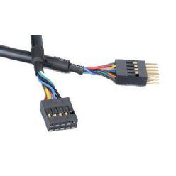 Akasa interní prodlužovací USB 2.0 kabel, 40cm