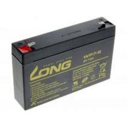 Baterie Long WP7-6, 6V, 7Ah, Faston 187