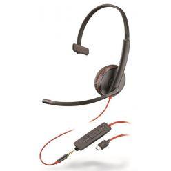 Plantronics Blackwire C3215, Mono, USB-C/Jack