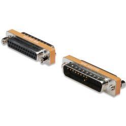 PremiumCord Redukce 25M-25Fnull modem,krat.provedení