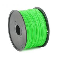 GEMBIRD 3D PLA plastové vlákno pro tiskárny, průměr 1,75 mm, zelené