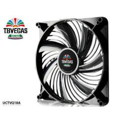 Enermax T.B.Vegas Quad Blue LED 180mm ventilátor, 600-1200rpm, 3-pin