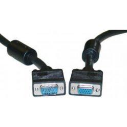 HQ SVGA kabel MD15HD-FD15HD, prodlužovací, s ferity, 3m