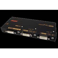 Rozbočovač DVI + audio na 2 monitory