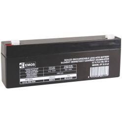 EMOS baterie SLA 12V/2.2Ah, Faston 4.8 (187