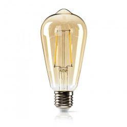 Nedis Stmívatelná LED Retro Žárovka s Vláknem E27 | ST64 | 5,4 W | 380 lm