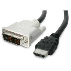 PremiumCord DVI-HDMI kabel, DVI-D(M) - HDMI M, 3m