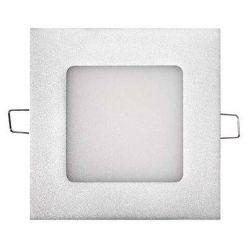 Emos vestavné LED svítidlo, čtverec 6W/40W, NW neutrální bílá, IP20, stříbrné