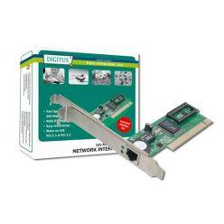 Digitus síťová karta, 10/100Mbit, Realtek, WOL, PCI