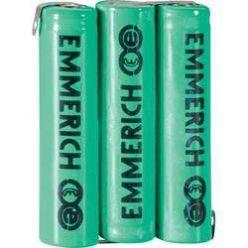 Akupack 3x AA NiMH 3,6 V / 600 mAh