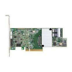 LSI MegaRAID SAS 9361-8i, 12Gb/s, SAS/SATA 8-port, RAID 0/1/5//6/10/50/60, PCI-E 3.0 x8, SGL