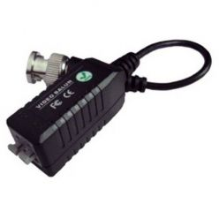 Balun BNC/UTP, pasivní, 75/100ohm, miniaturní, s kabelem, 1ks