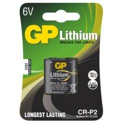 GP CR-P2, 6V lithiová baterie, 1400 mAh
