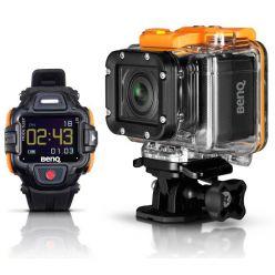 BENQ outdoor kamera QC1/ LTE/ 13MPix CMOS/ FULL HD/ Černá/ hodinky v balení
