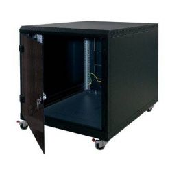 "Triton 19"" kontejnerový rozvaděč 12U, 1000hl, barva šedá, plechové dveře"