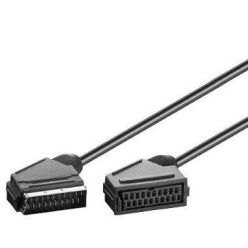 PremiumCord Kabel SCART-SCART 2m M/F prodlužka