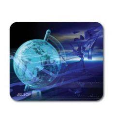 Allsop podložka pod myš - modrý glóbus
