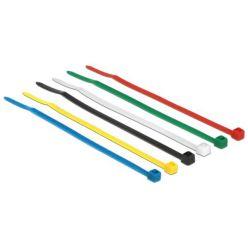 Delock Stahovací pásky barevné D 100 x Š 2.5 mm 100 ks