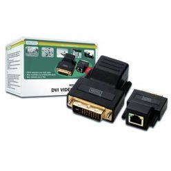 Digitus DS-54101, DVI extender přes LAN do vzdálenosti až 70M