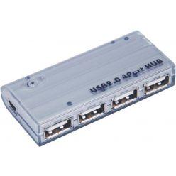 PremiumCord HUB 4-portový USB 2.0 hub, bez napájení