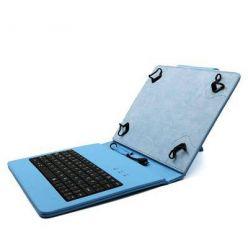 """C-TECH PROTECT pouzdro univerzální s klávesnicí pro 8"""" tablety, FlexGrip, NUTKC-02, modré"""
