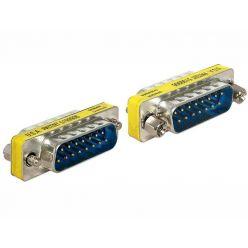 Delock adaptér Sub-D 15 pin samec > samec