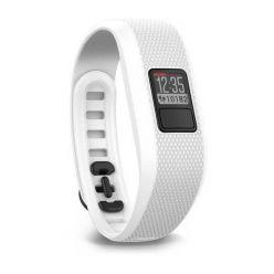 Garmin Vívofit3 White (vel. L) - monitorovací náramek/hodinky, bez nutnosti nabíjení