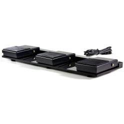 Scythe USB Foot Switch - Triple II, nožní ovladač, programovatelný, USB