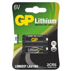 GP 2CR5, 6V lithiová baterie, 1400 mAh
